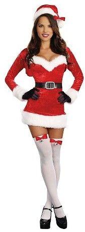 Women's Santa Baby Costume