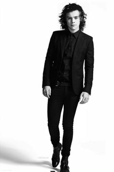 harry styles in black suit - Google Search