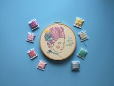 How to store embroidery thread