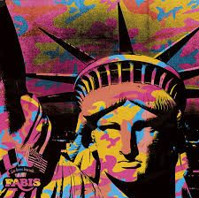Statue of Liberty (1962) by Andy Warhol