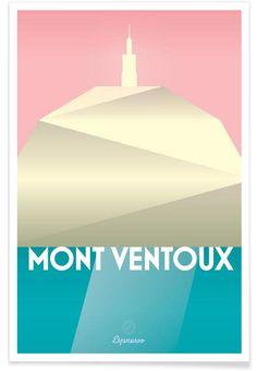 Mont Ventoux II en Affiche premium par Benjamin Andresen | JUNIQE