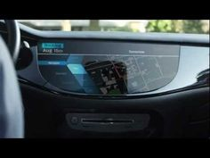 An imagined look at a car of the future presented by QNX.