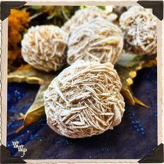 DESERT ROSE SELENITE RAW CRYSTAL BALL. For Full Moon, Cleansing, Chakra Alignment.