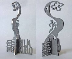 Trophy Design, Metal Plaque, Laser Cutting, Living Room Designs, Awards, Cups, Display, Lights, Creative