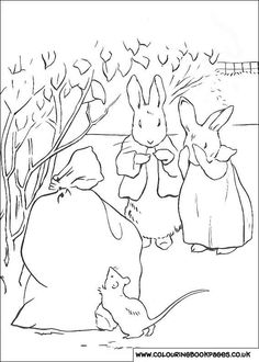 Awesome Rabbit Coloring Book 62  Peter Rabbit printable