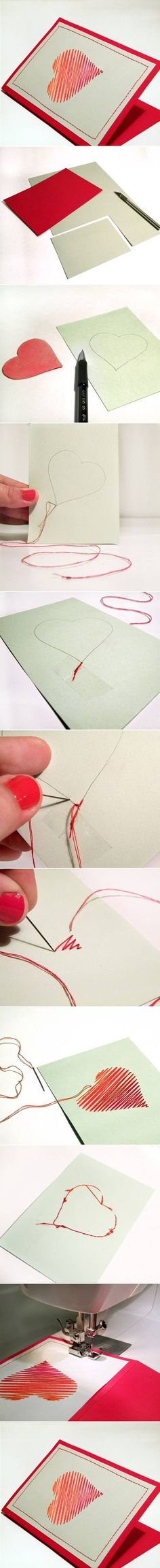 DIY Heart Card diy crafts home made easy crafts craft idea crafts ideas diy ideas diy crafts diy idea do it yourself diy projects diy craft handmade diy sewing diy gifts craft gifts Diy Crafts Yard, Diy And Crafts Sewing, Diy Home Crafts, Easy Diy Crafts, Sewing Diy, Craft Gifts, Diy Gifts, Scrapbooking, Heart Cards
