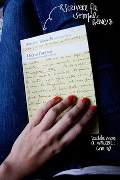 Antonio Tabucchi - Dietro l'arazzo | Zelda was a writer