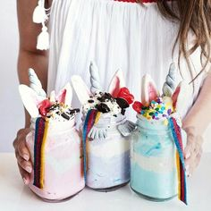 Unicorn drinks