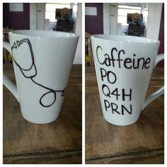 Nurse's mug. by LoveItGetItGotIt on Etsy