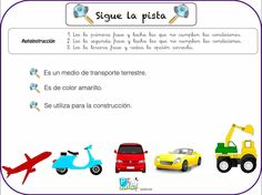 Spanish Classroom, Spanish Language, Summer School, Reading Comprehension, Speech Therapy, Texts, Transportation, Leo, Clip Art