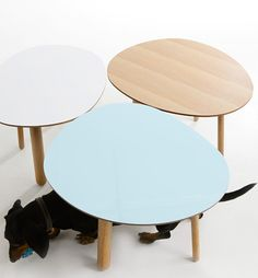 Morris coffee tables by Kirsi Gullichsen
