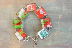 Gift Card Christmas Bracelet Starbucks lovers by lifeaccessories