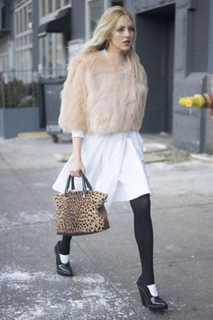 Pin for Later: The Street Style Hot Enough to Make You Forget the Cold NYFW Day Four Shea Marie
