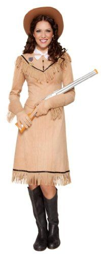Smiffy's Annie Oakley Adult Costume Brown Small Smiffy's,http://www.amazon.com/dp/B004MNKA6U/ref=cm_sw_r_pi_dp_cLAdsb0PVR215AE3