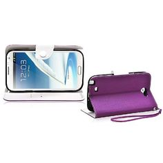 Amazon.com: Ionic POSITION Stand Protective Case for Samsung Galaxy Note II Note 2 N7100 (Purple): Cell Phones & Accessories