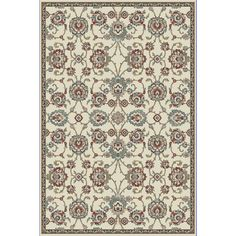 Dynamic Rugs Cappella Traditional Medallion Area Rug