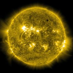 SDO's Ultra-high Definition View of 2012 Venus Transit - 171 Angstrom by NASA Goddard Photo and Video, via Flickr