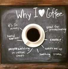 Why do you love coffee? #MrCoffee