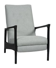 Archer Chair by Sam Moore. Comes in lots of different fabrics and wood finishes.