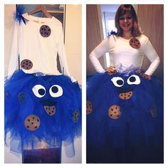 Costum Ideas Cookie Monster   Krümmelmonster DIY selfmade  https://www.facebook.com/pages/Naehprinz/202596043261312