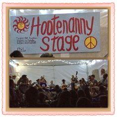 Twitter / marnivan: Closed Hootenanny Stage 2am-jam ...