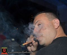 Antonio Villard Premium Electronic Cigar at the club!