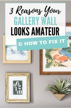 Gallery wall info.