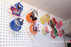 Organized Cookie Cutter Storage by Food Slots, via Flickr