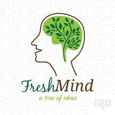 Exclusive Customizable Logo For Sale: Fresh Mind | StockLogos.com