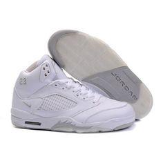 official photos ae2ff b6241 Air Jordan V 5 Retro white A05017 Cheap Retro Jordans, Cheap Authentic  Jordans, Real