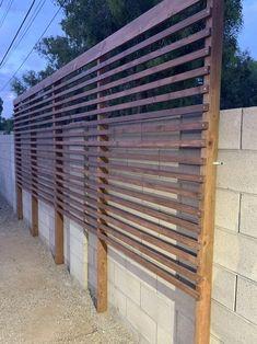 Privacy Trellis, Privacy Planter, Privacy Fence Designs, Privacy Landscaping, Backyard Privacy, Backyard Fences, Backyard Projects, Backyard Paradise, Yard Design