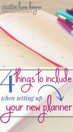 The beginning of the year welcomes a fresh start & these can't miss tips to include when setting up your new planner for the year are a must! Taking time to do some intentional planning now will pay off all year long!