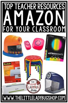 Teachers love Amazon because let's face it, it is easy and all your must haves are right at your fingertips for your classroom needs. Amazon has all your needs for class decor, classroom management, and so much more! I am excited to bring to you the best elementary classroom deals, teacher hacks and must haves for this school year! #amazonteacherfinds #teachersloveamazon #teacherhacks