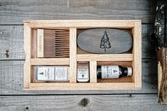 BEARD KIT: Big Beard Box Kit (Premium Beard Oil, Moustache Wax, Original Lip Balm, Boars Hair Beard Brush, Wood Beard Comb) - Made in Canada by LONEWOODS on Etsy https://www.etsy.com/ca/listing/248268481/beard-kit-big-beard-box-kit-premium