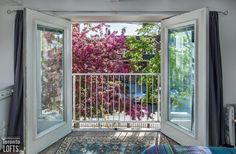 The great advantage of this three-level home is that you can access the workspace from the street without disturbing those upstairs Light Well, Toronto Life, Level Homes, Sloped Ceiling, Skylight, Condo, Real Estate, Patio, Lofts