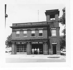 old No.2 fire house, 13th St, Columbus IN