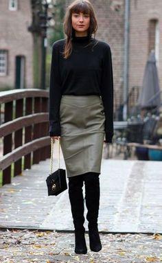 Как и с чем носить юбки в межсезонье | Stilouette Услуги стилиста онлайн, в Германии и во Франкфурте