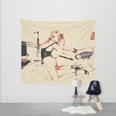 Abstract bondage play, #hardcore #fetish stretching, #sexy BDSM #erotic games in #bedroom #wall #art #tapestry Available in three distinct sizes, our Wall Tapestries are made of 100% lightweight polyester with hand-sewn finished edges. Featuring vivid colors and crisp lines, these highly #unique and versatile #tapestries are durable enough for both indoor and outdoor use. #society6 #walldecor #decor
