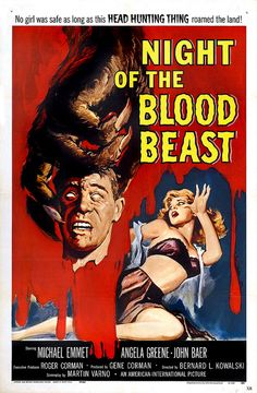 1958 Night of the Blood Beast. #horror