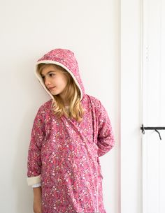 Corinne's Thread: Purl Soho Kid'sRobe - Purl Soho - Knitting Crochet Sewing Embroidery Crafts Patterns and Ideas!