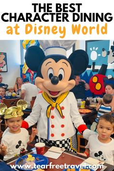 If you are planning a Disney World character dining experience, you may be paying a premium price tag for that photo with Mickey or Goofy. Here are the best (and worst) character dining meals at Disney World so you can make sure your money is well spent!