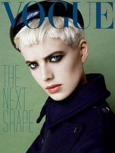 Agyness Deyn on the cover of Italian Vogue, November 2006. by ingridalmazán, via Flickr