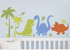 Dinosaur Walk Wall-Scape Decals