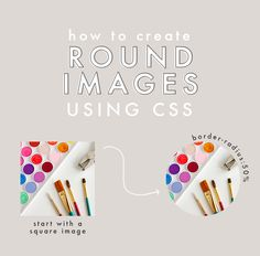 How to Create Round Images Using CSS | TheBlogMarket.com