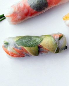 Vegetarian Summer Rolls Recipe