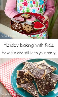 Holiday baking with kids: Have fun and still keep your sanity!