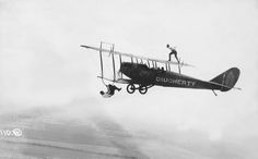 Wing-walking on planes was not for the faint of heart