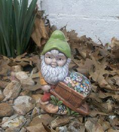 Garden Knome Springtime Decor for Home or Garden by TLCCeramicsIL, $15.00