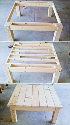 Table from pallet wood by josephine