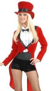 Womens Sexy Circus Lady Ring Master Halloween Costume | eBay